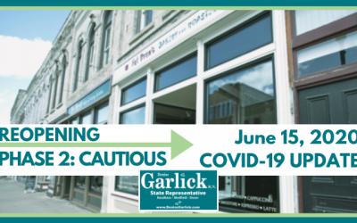 June 15, 2020 COVID-19 Update