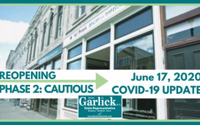 June 17, 2020 COVID-19 Update