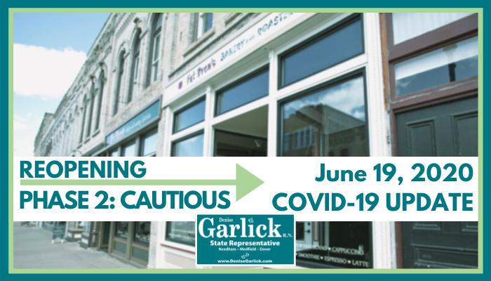 June 19, 2020 COVID-19 Update
