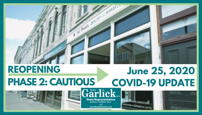 June 25, 2020 COVID-19 Update