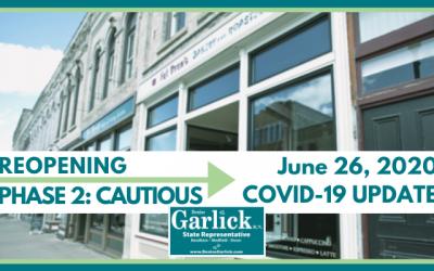June 26, 2020 COVID-19 Update