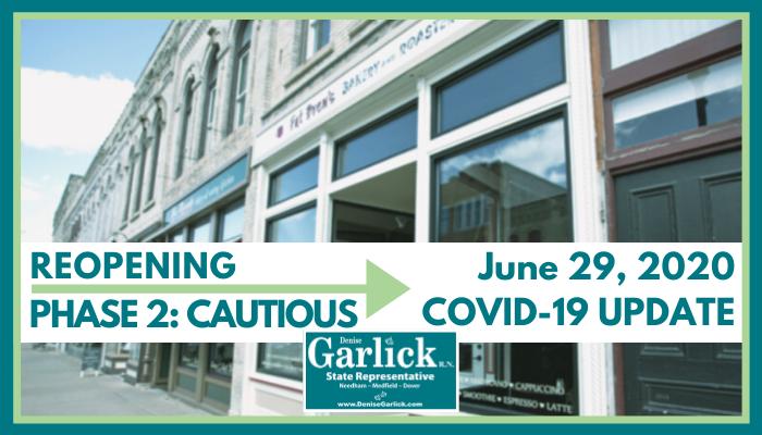 June 29, 2020 COVID-19 Update