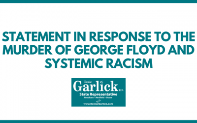 Garlick statement in response to the murder of George Floyd and systemic racism