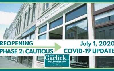 July 1, 2020 COVID-19 Update