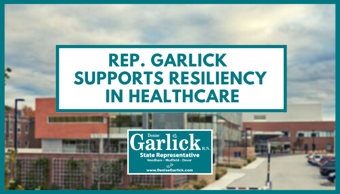 Rep. Garlick Supports Resiliency in Healthcare