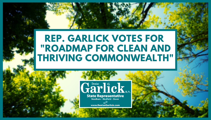 "Rep. Garlick Votes for ""Roadmap for Clean and Thriving Commonwealth"""