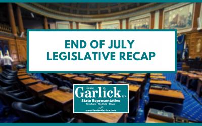 End of July Legislative Recap