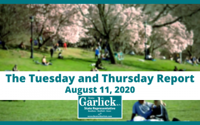 August 11, 2020, Tuesday and Thursday Report