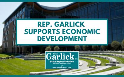 Rep. Garlick Supports Economic Development