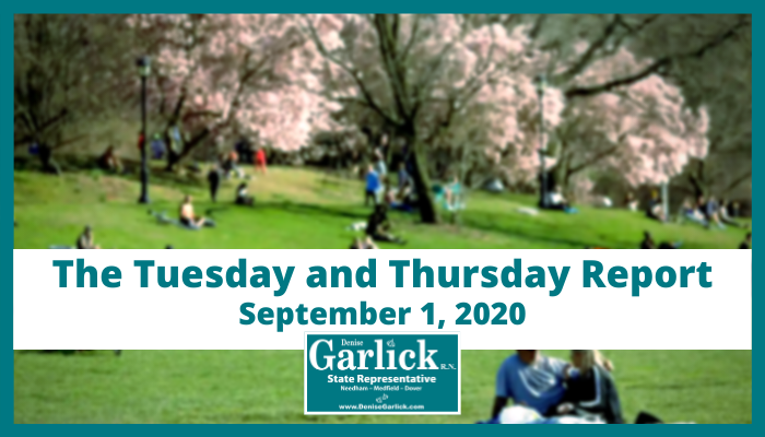September 1, 2020 Tuesday and Thursday Report