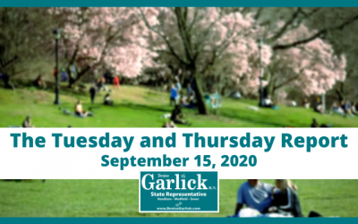 September 15, 2020, Tuesday and Thursday Report
