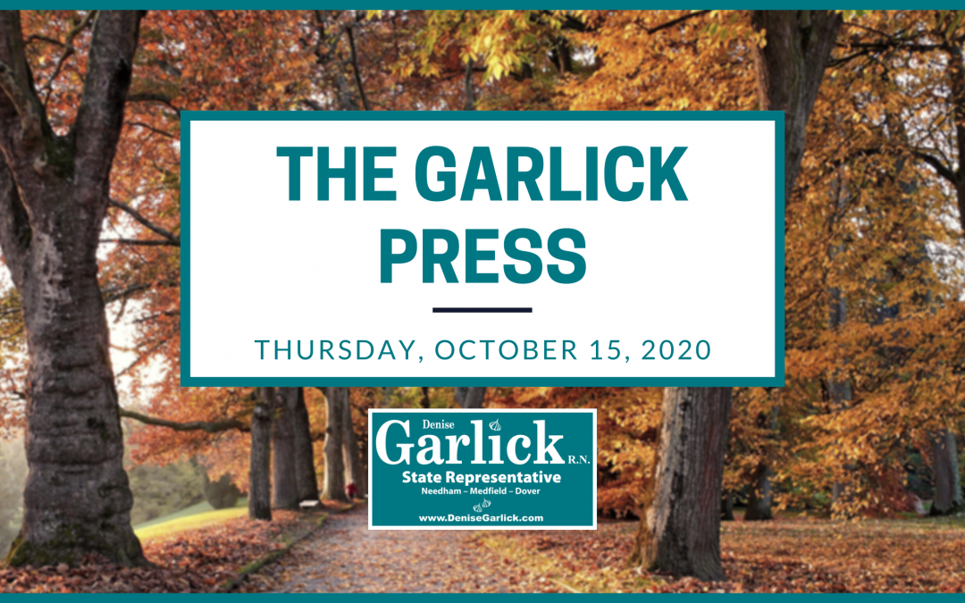 The Garlick Press – Thursday, October 15, 2020