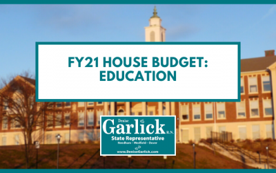 House FY21 Budget Update: Education
