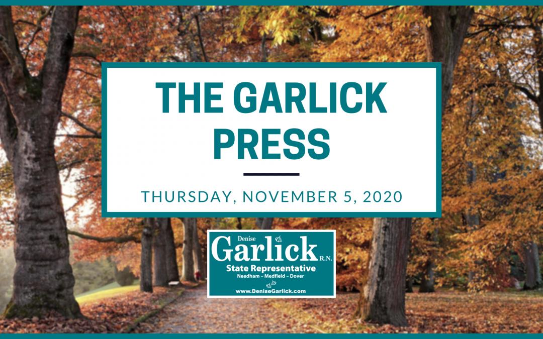 The Garlick Press – Thursday, November 5, 2020