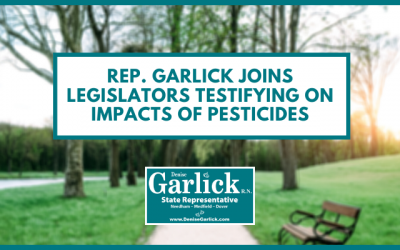 Rep. Garlick Joins Legislators Testifying on Impacts of Pesticides