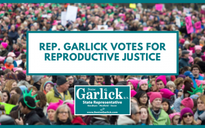 Rep. Garlick Votes for Reproductive Justice