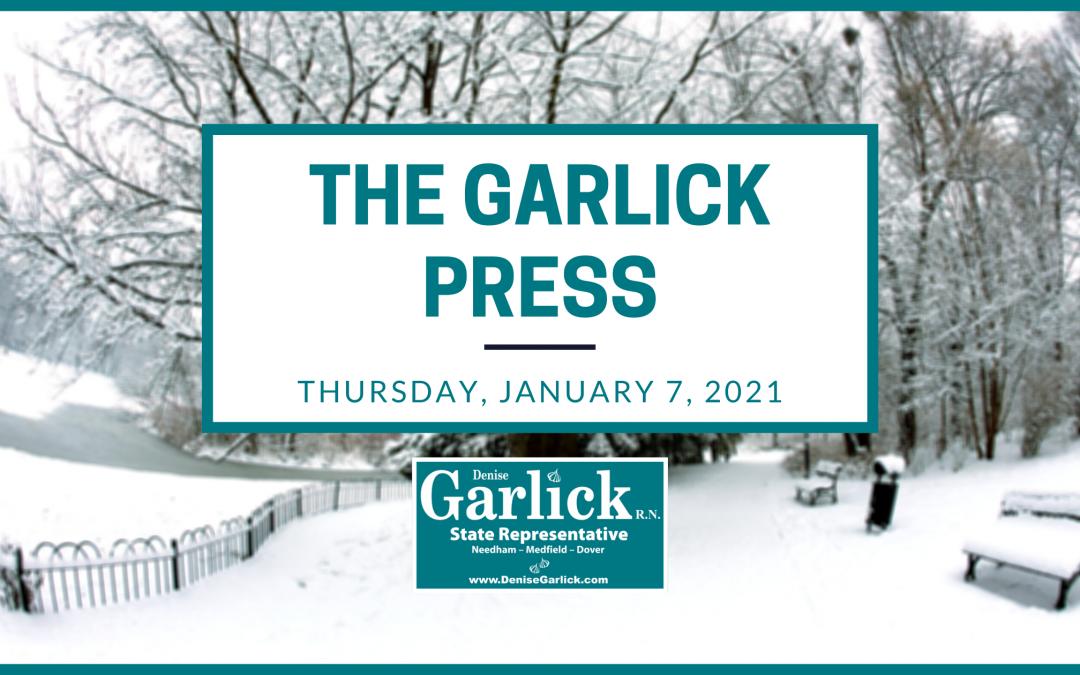The Garlick Press – Thursday, January 7, 2021