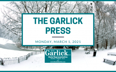 The Garlick Press – Monday, March 1, 2021