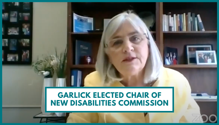 Garlick Elected Chair of New Disabilities Commission
